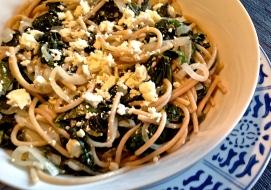 Kale, Lemon & Olive Pasta