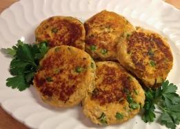 Easy Peas-y Fish Cakes