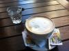 Cafe con leche - Plaza Dorrego