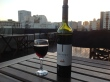 Wine & Buenos Aires sunset